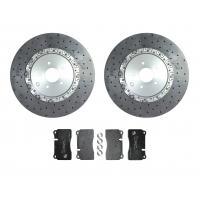Surface Transforms Carbon Ceramic rear brake kit ( 400x30 mm ) for OE calipers - Nissan R35 GTR