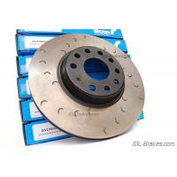 Alcon rear OE replacement crescent grooved discs 310x22 Golf R, Golf R32, Audi TTS