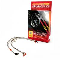 Goodridge Brake Lines Nissan 350Z (non-UK, non-Brembo) 2003 - 2008 Zinc Plated – front and rear