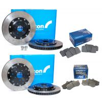 Top brake package front and rear Alcon / Pagid - Nissan GTR
