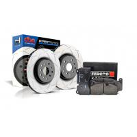 Special package DBA Street T2 front brake discs and Ferodo DS2500 pads - Audi S4 B8