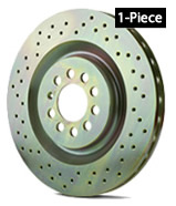 Brembo 1-Piece Drilled Rotor