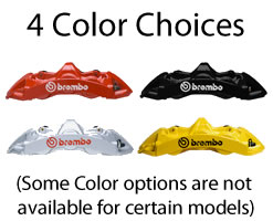 Brembo 4 colors